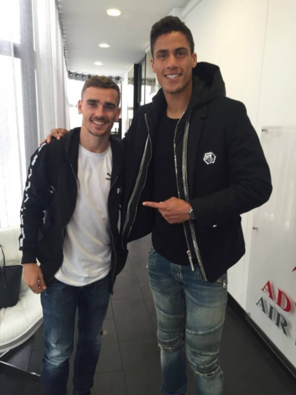 His father name, gaston varane. Atlético Madrid   Raphael Varane wishes Antoine Griezmann ...
