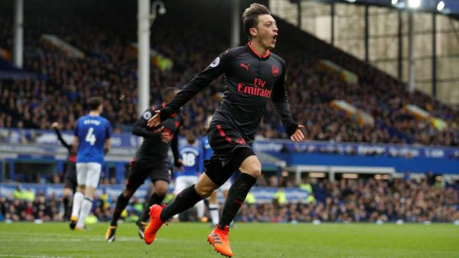 Image result for everton 2-5 arsenal
