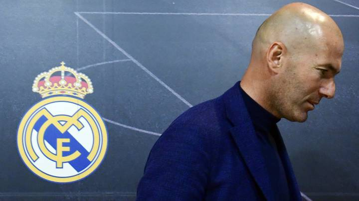 Official: Zinedine Zidane resigns as Real Madrid manager - AS.com