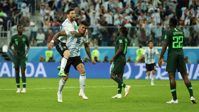 Image result for nigeria vs argentina 2018