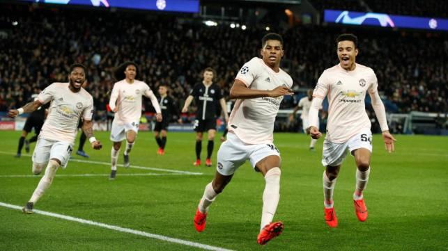 Man Utd stun PSG