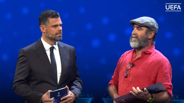 It is likely that with these words cantona is criticizing the. Eric Cantona Speech At Uefa Champions League Draw As Com