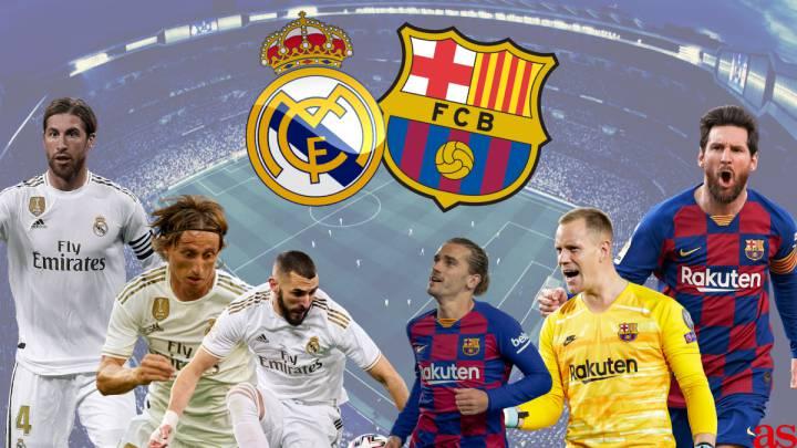 Resultado de imagen para real madrid vs. barcelona