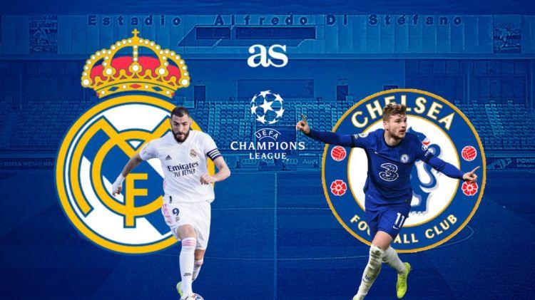 Real Madrid vs Chelsea live online: Champions League semi ...