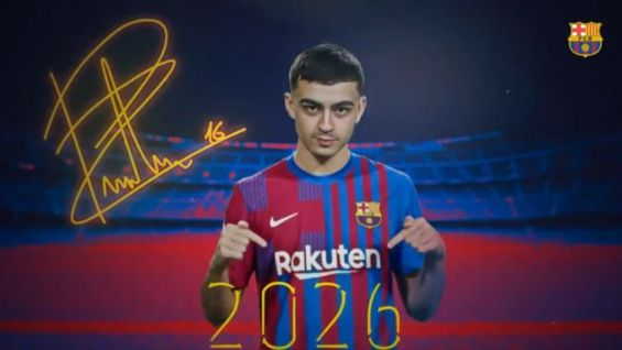 Barcelona confirm Pedri to renew deal until 2026 as club sets €1bn buyout clause