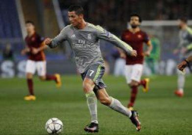 Cristiano jugando la 15/16 de la UCL