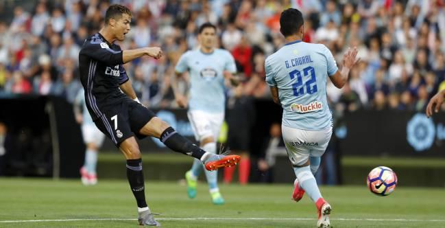 Gol de Cristiano Ronaldo en el Celta-Real Madrid.