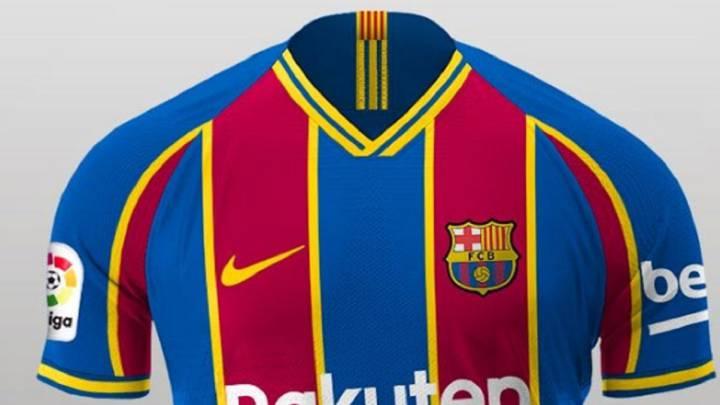 Better price & free shipping. El Barça ya conoce las tres camisetas de la 2020-2021 - AS.com