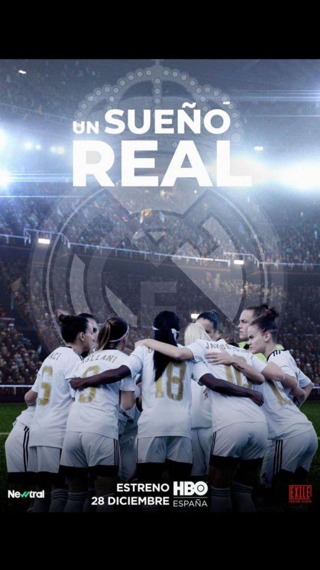 Un sueño real es la serie documental dedicada al fútbol femenino.  HBO se embarca en la aventura de contar la transición del Tacon al Real Madrid femenino.