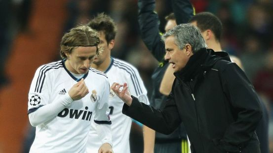 """Mourinho: """"Modric won the Golden Ball, he can't be compared …"""""""