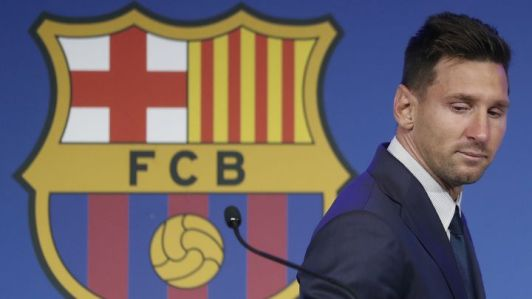 Barcelona owe Messi €52m in unpaid wages