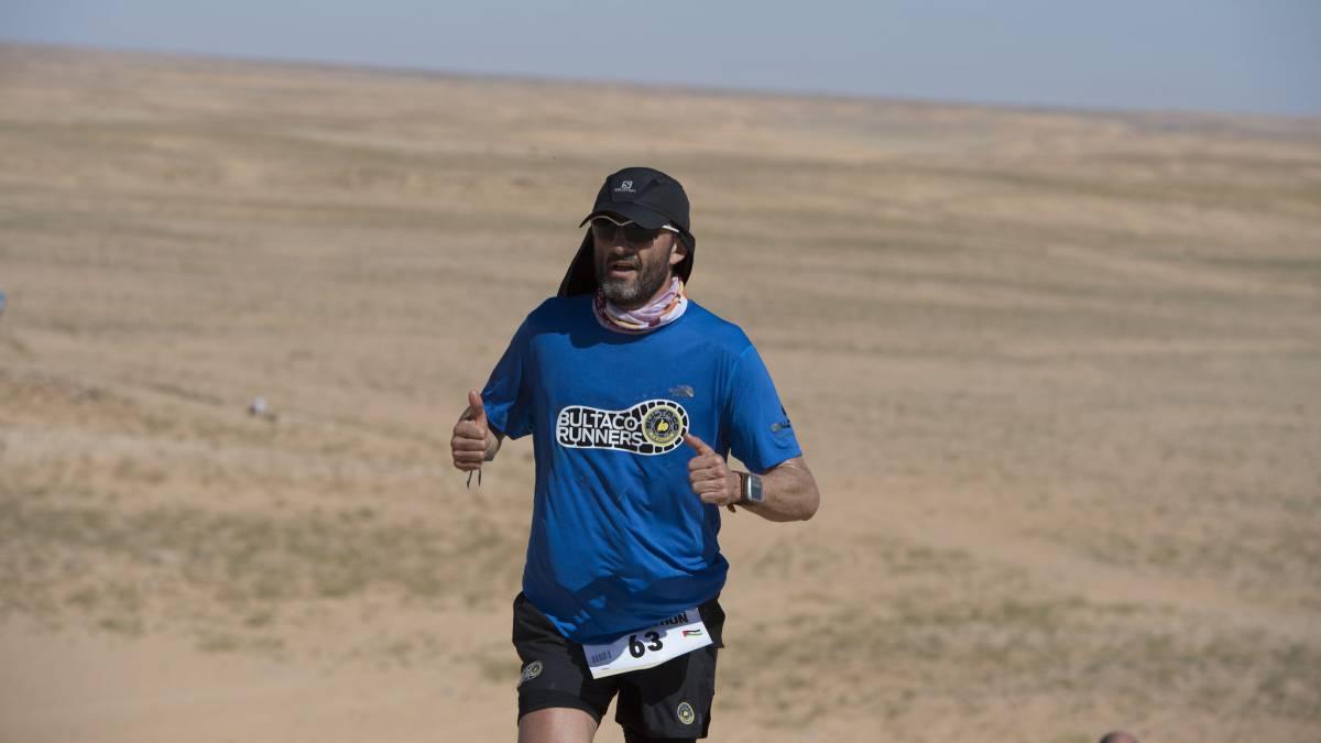 Así se prepara el campeón del Marathon para volver al Sahara