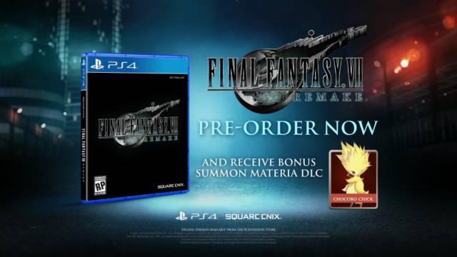 Final Fantasy VII Remake, E3 2019