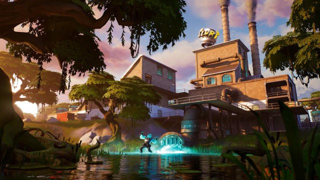 fortnite chapter 2 season 1 challenges wrought in sorbet defy looking for the r hidden in the loading screen of wrought in sorbet