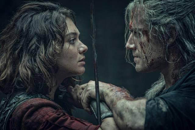 The Witcher Netflix, swords