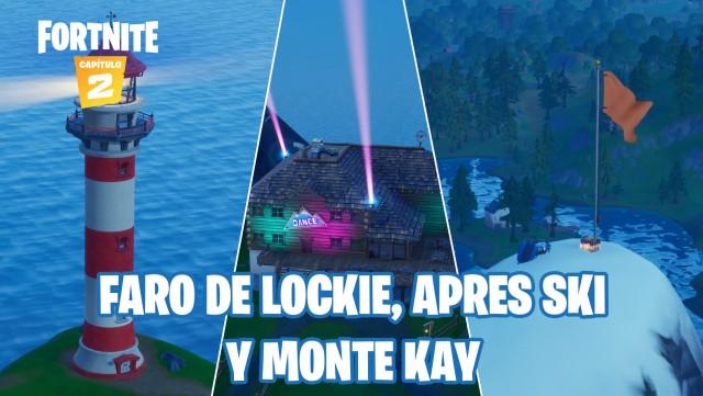 fortnite chapter 2 season 2 challenges report of brutus defy lands in faro de lockie apres ski and monte kay