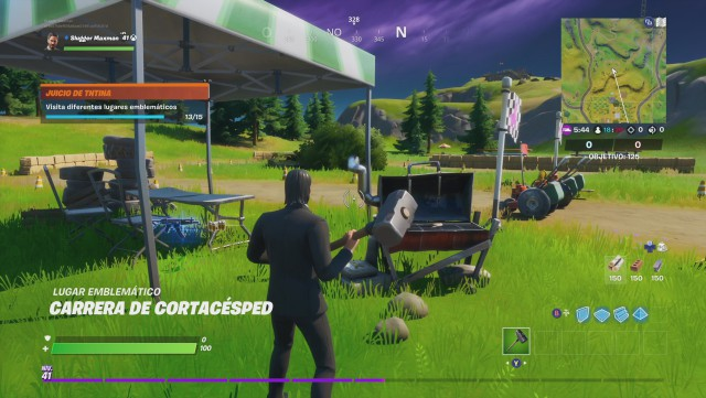 fortnite chapter 2 season 2 challenges the judgment of tntina challenge visit different emblematic places