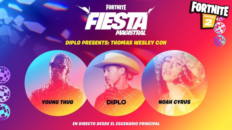Fortnite: Anunciado evento de Diplo, Young Thug y Noah Cyrus ...