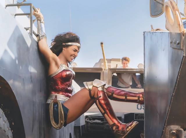Nuevas imágenes y artes de Wonder Woman 1984: primer vistazo a Cheetah