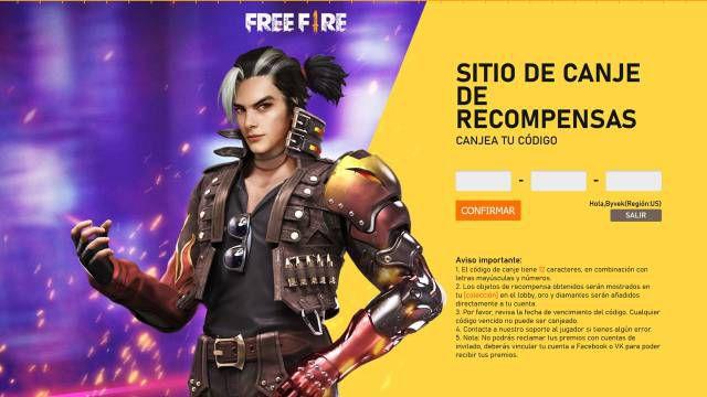 Free Fire códigos recompensas gratis 26 marzo canjear skins Shingeki no Kyojin móviles iOS Android Garena