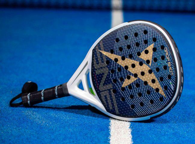 The Drop Shot Legend 2.0 padel racket.