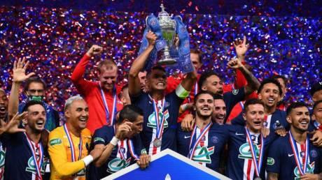 El PSG es campeón de la Copa de Francia, pero Mbappé se lesiona ...