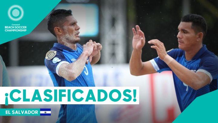 El Salvador consigue su boleto al Mundial de Playa al vencer a Guatemala