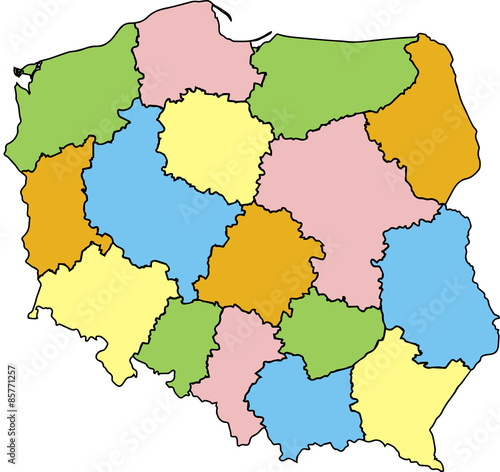 Znalezione obrazy dla zapytania: mapa polski zdjecia