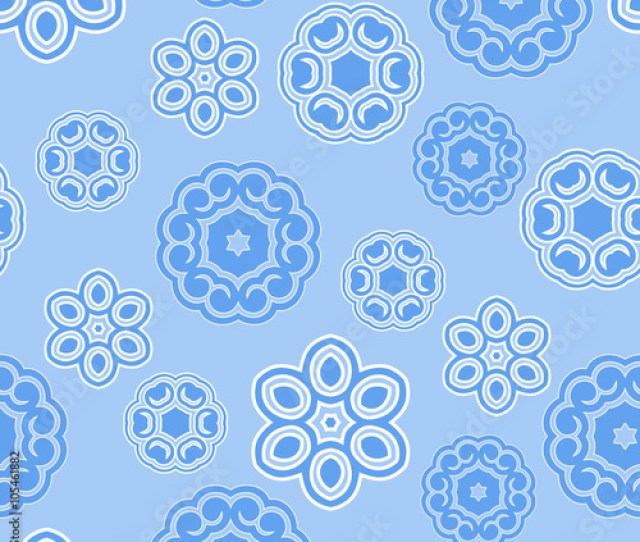 Abstract Blue Seamless Pattern Seamless Pattern For Your Design Wallpapers Pattern Fills Web