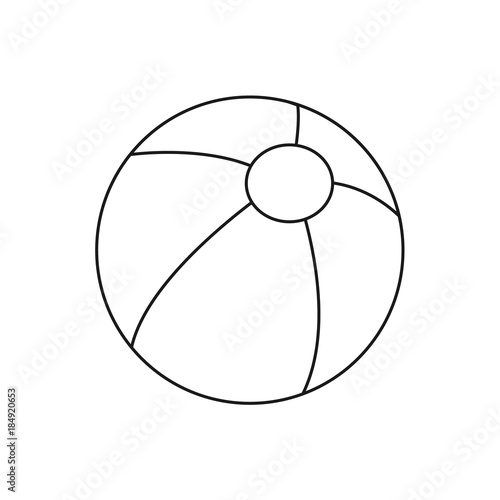 ball coloring pages # 13