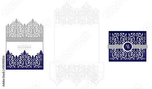 wedding elegant invitation card