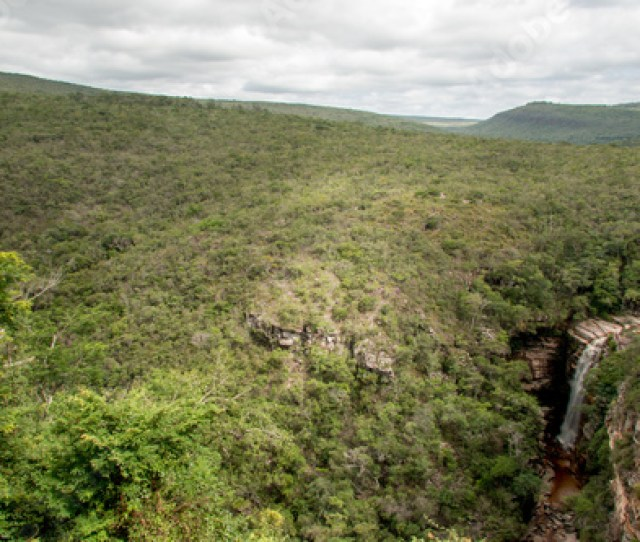 The Beautiful Landscape Of Chapada Dos Dimantina In The Interior Of The State Bahia Brazil