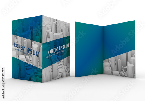 The closed size of the folder is 220 x 305 millimeters (8.66 x 12 inches), and it comes with a 220 x 100 millimeters inside pocket (8.66 x 3.93 inches) which can be used to hold all your a4 documents. 9 977 Mockup Folder Dobra Bemockup