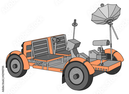 Apollo Lunar Roving Vehicle (moon buggy) - Buy this stock ...