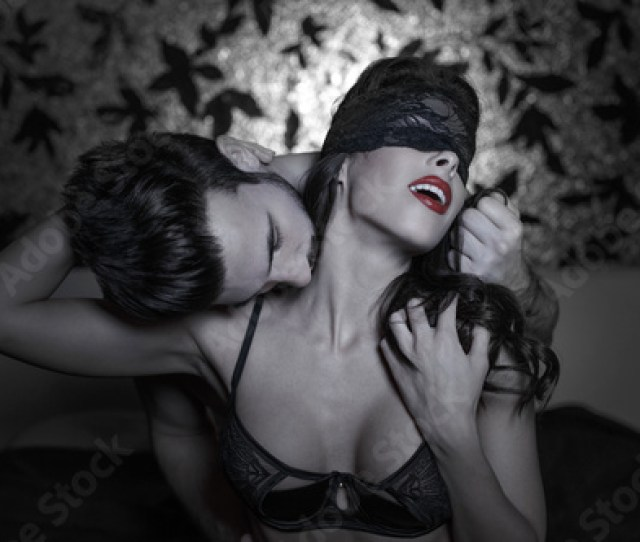 Hot Passionate Lovers At Night