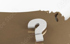 HD Decor Images » USA gold map with question mark   Buy this stock illustration and     USA gold map with question mark