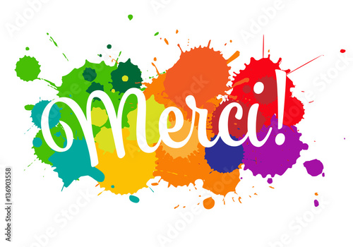 Merci - Buy this stock vector and explore similar vectors ...
