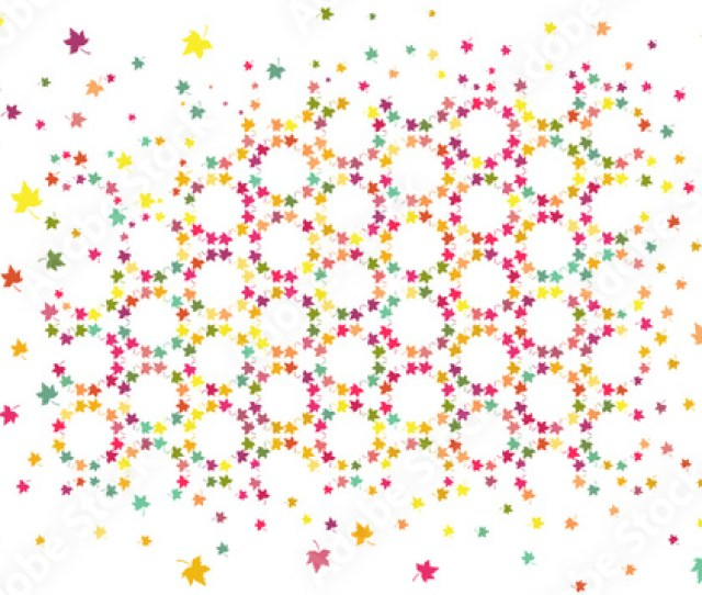 Abstract Vector Pattern Background Or Texture With Colorful Yellow Orange Pink Green And