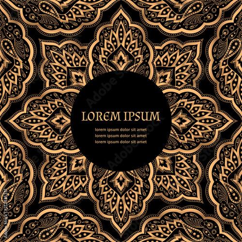 luxury background vector paisley royal
