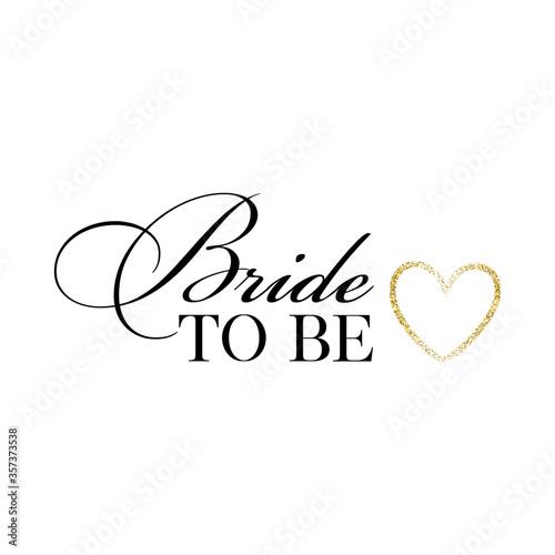 poster lettering vector design bride
