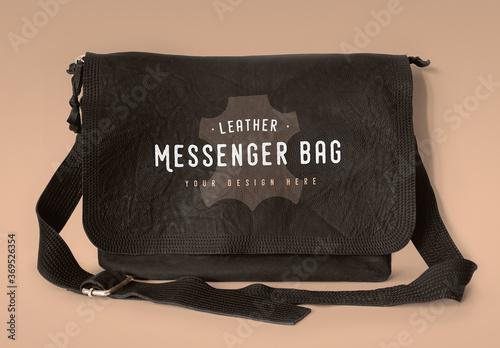 Download 640+ royalty free messenger mockup vector images. Leather Messenger Bag Mockup Stock Template Adobe Stock