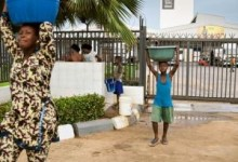 Photo of Nestlé tackling water issues in Central and West Africa