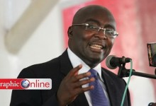 Photo of Bawumia accuses AfDB of cover up for govt