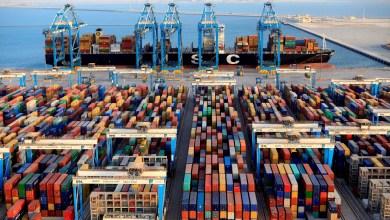 Freight on Tema docks