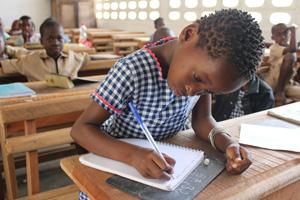 School in Côte d'Ivoire after lockdown