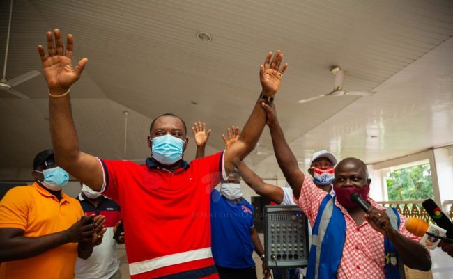 NPP primaries: Matthew Opoku Prempeh won by acclamation in Manhyia South