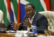 Tito Mboweni, finance minister of South Africa