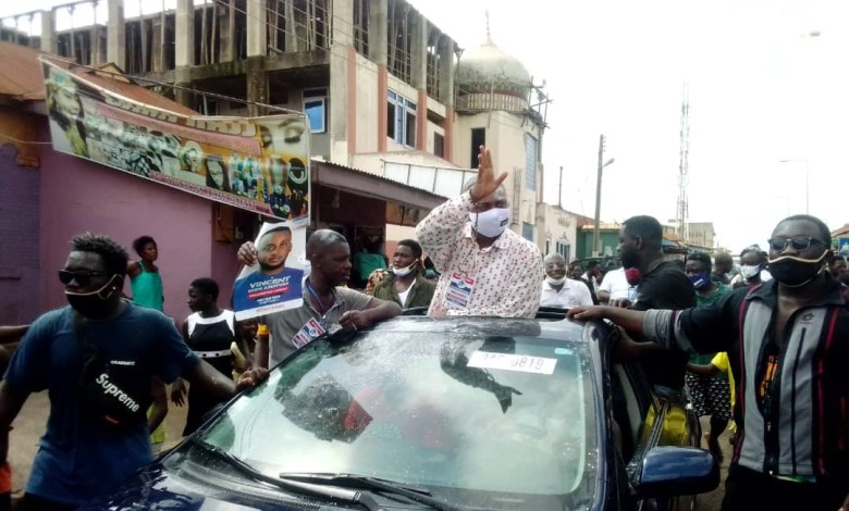 NPP primaries: Vincent Ekow Assafuah wins Old Tafo