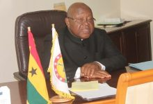 Aaron Mike Oquaye, Speaker of Parliament