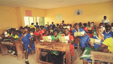 A school in Nigeria